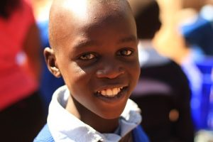Smiling Kibera Boy